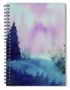Aurora Borealis I Spiral Notebook
