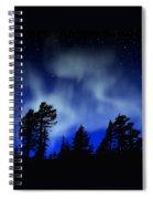 Aurora Borealis Wall Mural Spiral Notebook
