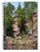 Ausable Chasm 1608 Spiral Notebook