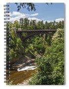 Ausable Chasm Bridge Spiral Notebook