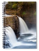 Ausable Chasm Waterfall Spiral Notebook