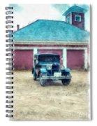 Austin Seven Watercolor Spiral Notebook