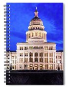 Austin State Capitol Building, Texas - Spiral Notebook