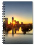 Austin Sunrise Spiral Notebook