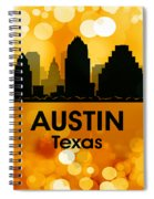 Austin Tx 3 Spiral Notebook