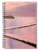Austinmer Pool At Sunset Spiral Notebook