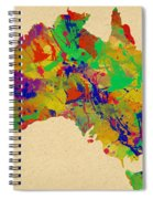 Australia Watercolor   Spiral Notebook