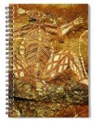 Australia Ancient Aboriginal Art 1 Spiral Notebook