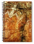 Australia Ancient Aboriginal Art 2 Spiral Notebook