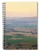 Australian Country Panorama Spiral Notebook