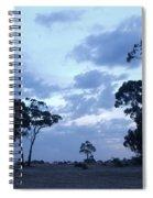 Australian Countryside Spiral Notebook