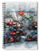 Australian Grand Prix F1 2012 Spiral Notebook