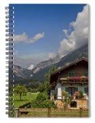 Austrian Cottage Spiral Notebook