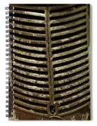 Auto Abstract Spiral Notebook