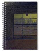 Auto Garage Spiral Notebook
