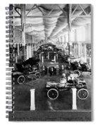 Automobile Display, 1904 Spiral Notebook