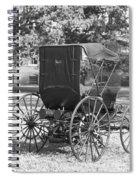 Automobile Duryea, 1893-94 Spiral Notebook