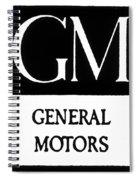Automobiles Gm Logo Spiral Notebook