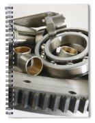 Automotive Clutch Parts Spiral Notebook
