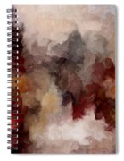Autumn Abstract Spiral Notebook