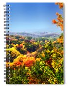 Autumn Across The Hills Spiral Notebook