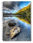 Autumn At Crafnant  Spiral Notebook