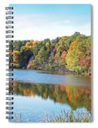 Autumn At Durand Spiral Notebook