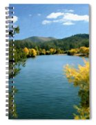 Autumn At Lynx Lake Spiral Notebook