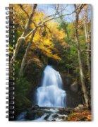 Autumn At Moss Glenn Falls Spiral Notebook