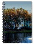 Autumn At Old Key West Resort Panorama Walt Disney World Spiral Notebook