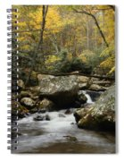 Autumn At Stony Creek Spiral Notebook