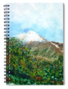 Autumn At The Foot Of Mount Elbrus Spiral Notebook