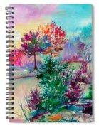Autumn Aura Spiral Notebook