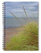 Autumn Beach Grasses Spiral Notebook