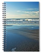Relaxing Autumn Beach  Spiral Notebook