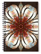Autumn Blooming Spiral Notebook