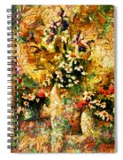 Autumn Bounty - Abstract Expressionism Spiral Notebook