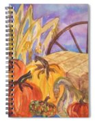 Autumn Bounty Spiral Notebook