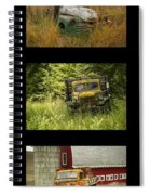 Autumn Boys Spiral Notebook