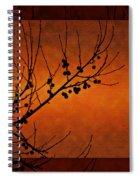 Autumn Branches Spiral Notebook