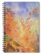 Autumn Breeze Spiral Notebook
