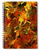 Autumn Burst Spiral Notebook