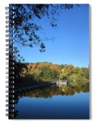 Autumn By The Lake 1 Spiral Notebook