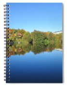 Autumn By The Lake 3 Spiral Notebook