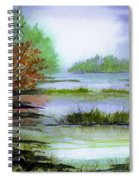 Autumn By The Lake  Spiral Notebook