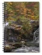 Autumn Cascades Spiral Notebook