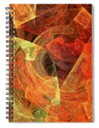Autumn Chaos Spiral Notebook