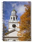 Autumn Church Spiral Notebook