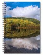 Autumn Clouds Spiral Notebook