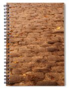 Autumn Cobble Stone Road II Spiral Notebook
